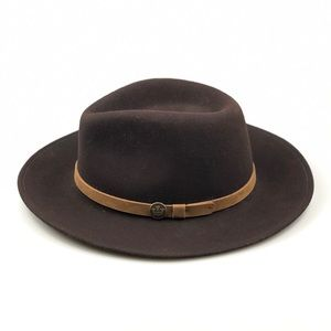 Goorin Bros Henry Jones Brown Wool Hat Small